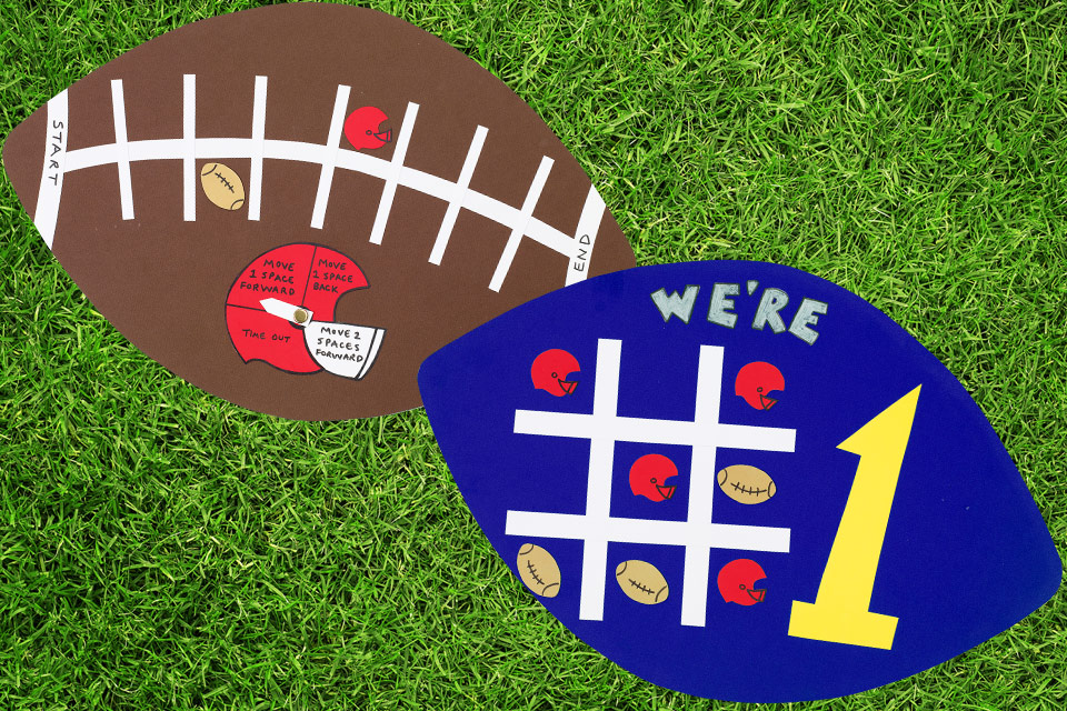 2-in-1 Football Game Board