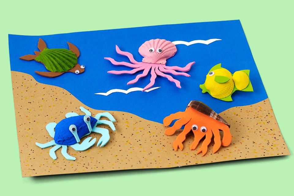 Seashell Critters