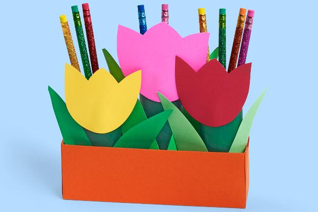 Tulip Pencil Box