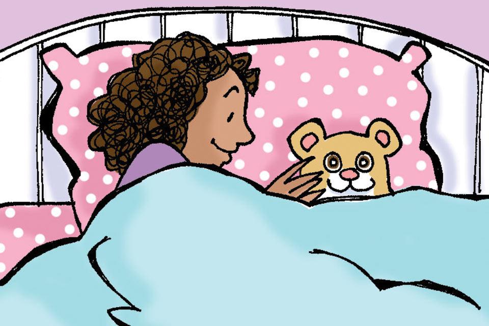 Sleeping with a Stuffed Animal