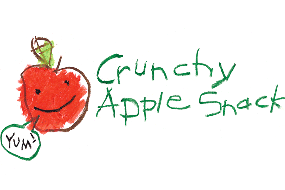 Crunchy Apple Snack