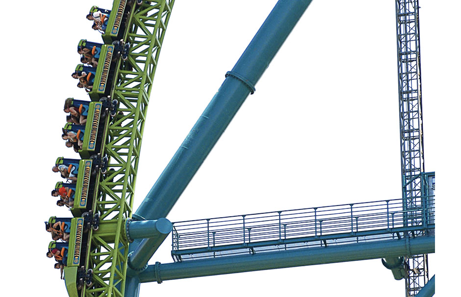 Why are people scared of roller coasters?